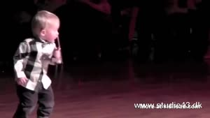 Two Year Old Toddler Dances To Elvis