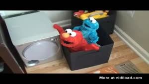 What Happens When You Put Elmo And Cookie Monster Together