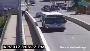 Bus Driver Spoils A Hit And Run