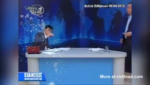 Eggs Thrown At News Anchor