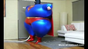Inflatable Superman