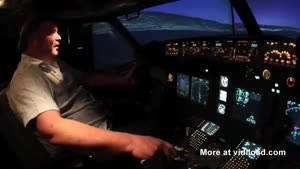 Man Builds Flight Simulator In His Garage
