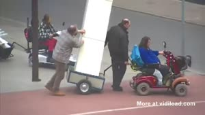 Moving With The Help Of A Mobility Scooter