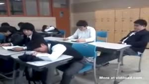 Sleeping In Class Can Get You Hurt