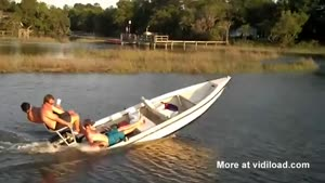Boat Wheelie Turns Out To Be Big Mistake