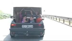 Taking The Kids To School In Romania