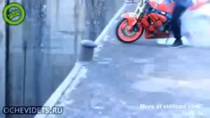 Incredibly Dangerous Burn Out Stunt