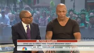 Mike Tyson Is Very Outspoken During Interview