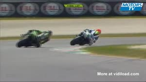 Motorcycle Racer Celebrates Victory Too Early