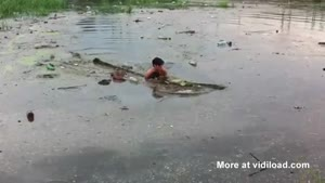 Boy Saves Dog From Drowning