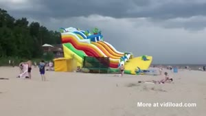 Inflatable Attraction Gets Airborne