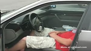 Driver Sleeps While He Blows Up His Engine