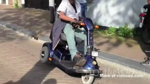 Mobility Scooter Drifting
