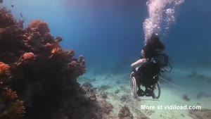 Underwater Wheelchair Diving
