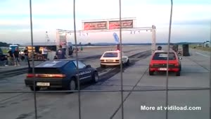 Idiot Makes Stupid Mistake On The Race Track