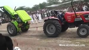 Tractor Pulling Contest's Outcome Is Pretty Clear