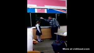 Angry Teacher Didn't Expect This Reaction