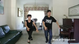 60-Year-Old Mom Learns To 'Gangnam Style'!