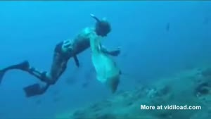 Big Fish Steals Spearfishing Guy's Catch
