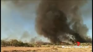 Rare Fire Tornade Captured On Camera
