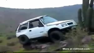 Rescuing A Car Stuck On A Hill Goes Wrong
