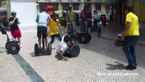 First Time On Segway