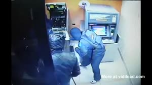 Cash Machine Ripped In 60 Seconds