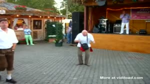 Cute Dancing Grandpa
