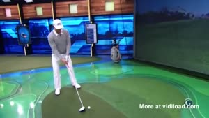 Long Drive Champion Breaks Golf Simulator