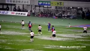 Very Wet Soccer Game