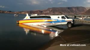 Awesome Vehicle Can Be Used On Land And Water