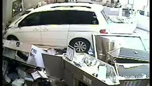 Car Crashes Into Jewelry Store