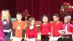 Frustated Kid During Christmas Play