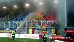 Firefighters Vs Soccer Fans