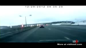 Plane Crash Filmed By Dashcam