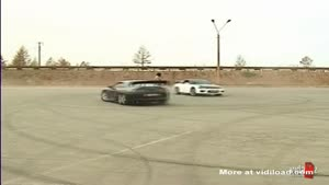 Drift Stunt With Chick Gone Wrong