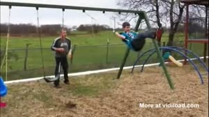 Painful Swingset Fail
