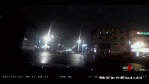 Dashcam Records Car Crashing Into Store