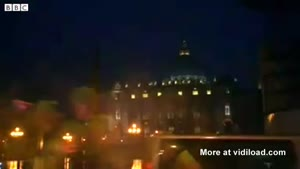 Lightning Strikes The Basilica After Resignation Pope