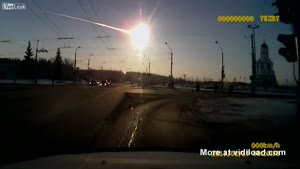 High Quality Footage Of Meteor Hitting Russia