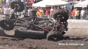 Monstertruck Jump Gone Wrong