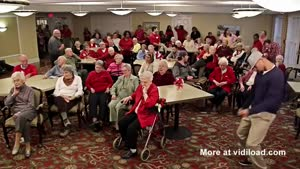 Retirement Home Does The Harlem Shake