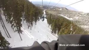 What Not To Do In A Ski Lift