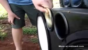 Subwoofer Destroys CDs