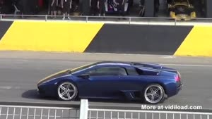 Daredevil Jumps Over Lamborghini