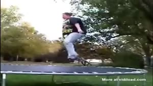 Trampoline Abuse