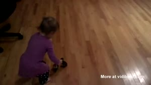 Ducklings Think Toddler Is Their Mommy