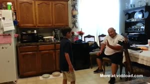 Father Eats Poop Out Of Sons Underwear