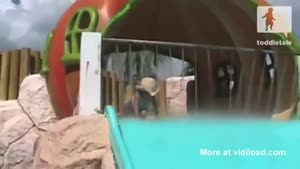 Toddler Poops On Water Slide
