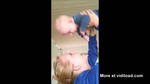 Baby Pukes In Face